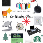 Coworker gift guide Boss gift guide