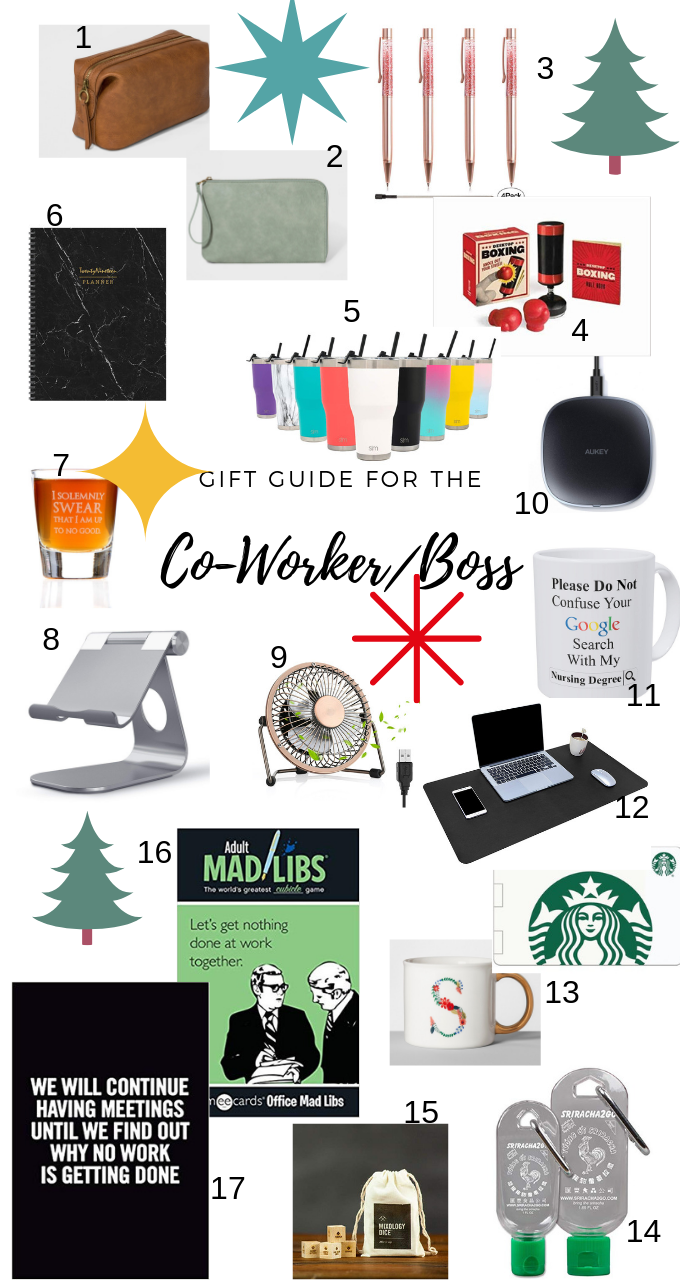 Coworker/Boss Gift Guide