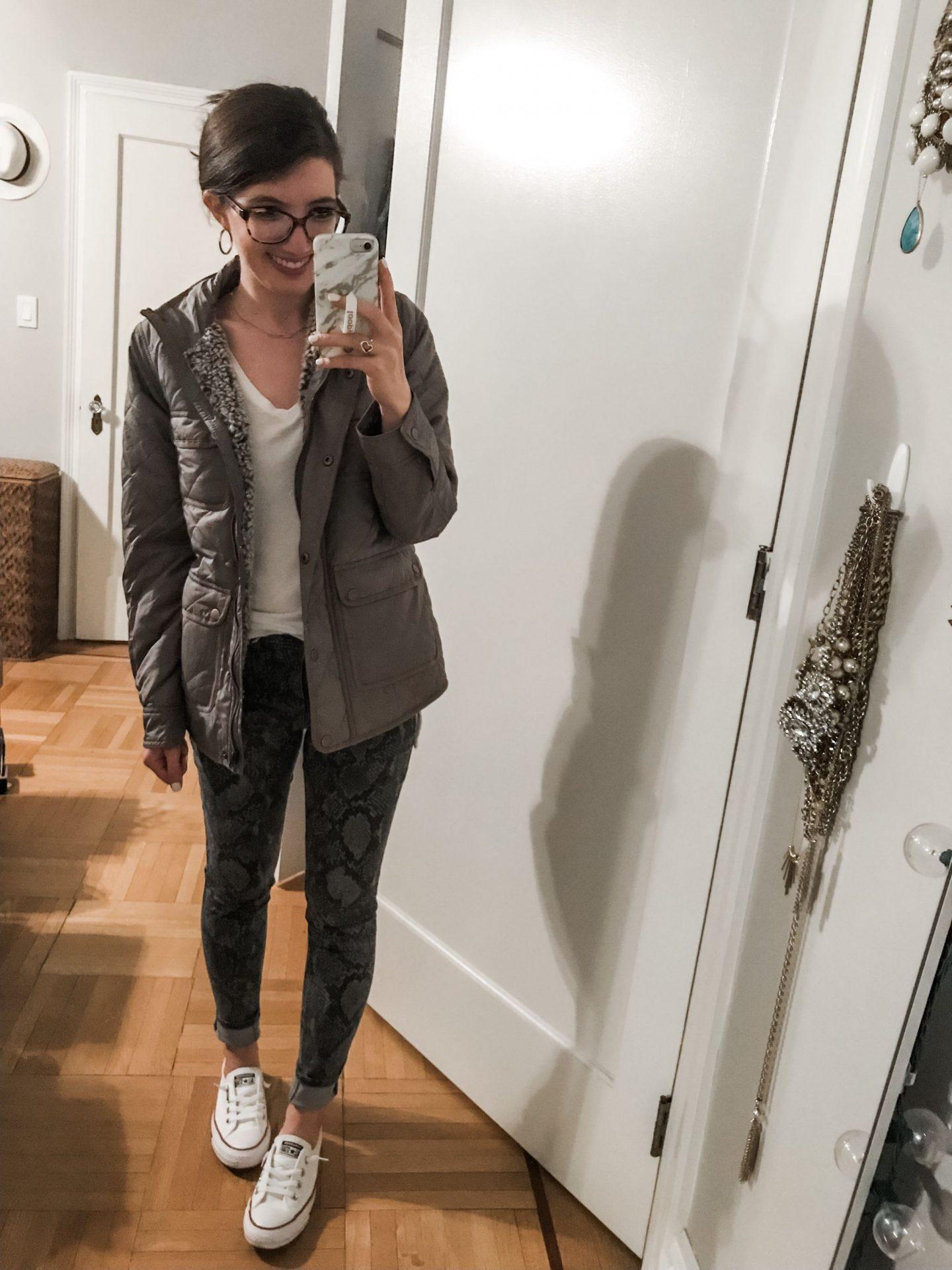 Thread and supply jacket