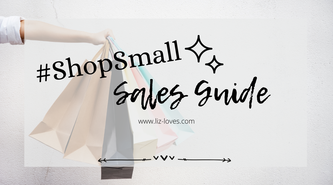 #ShopSmall – My favorite small businesses